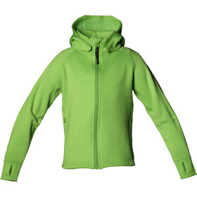 Isbjörn Kids Panda Fleece Hoody Lemongrass